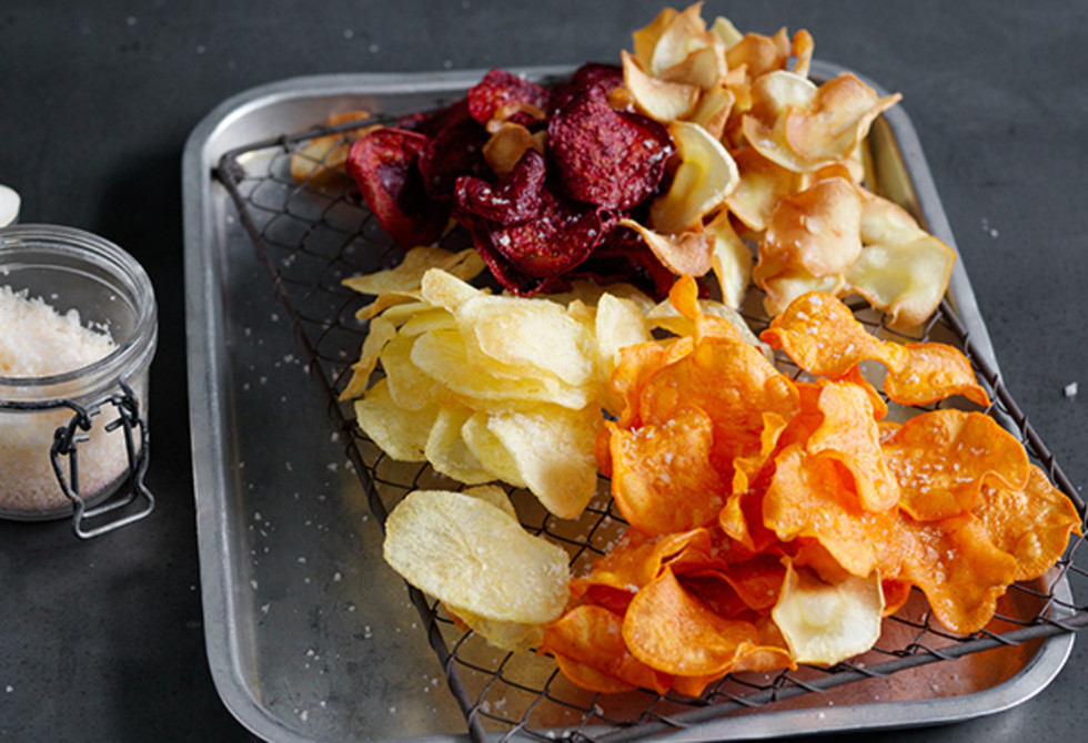 How to make vegetable chips