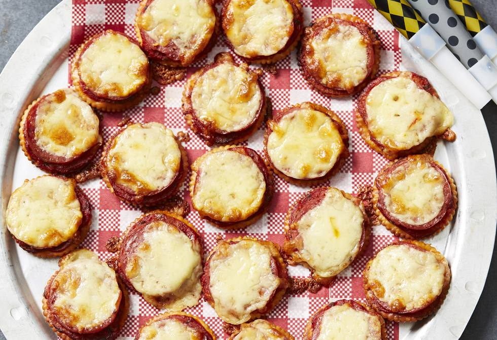 Mini pizza biscuits