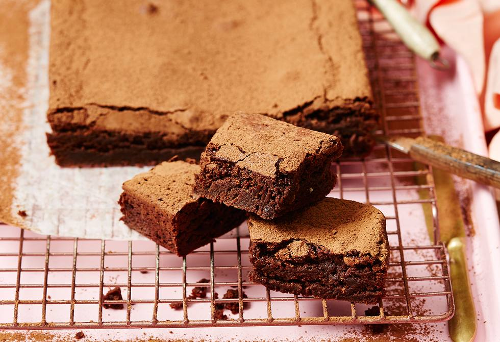 Spiced chocolate and chai brownies