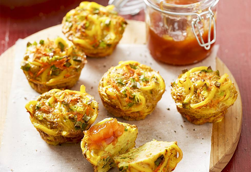 Curry noodle cups
