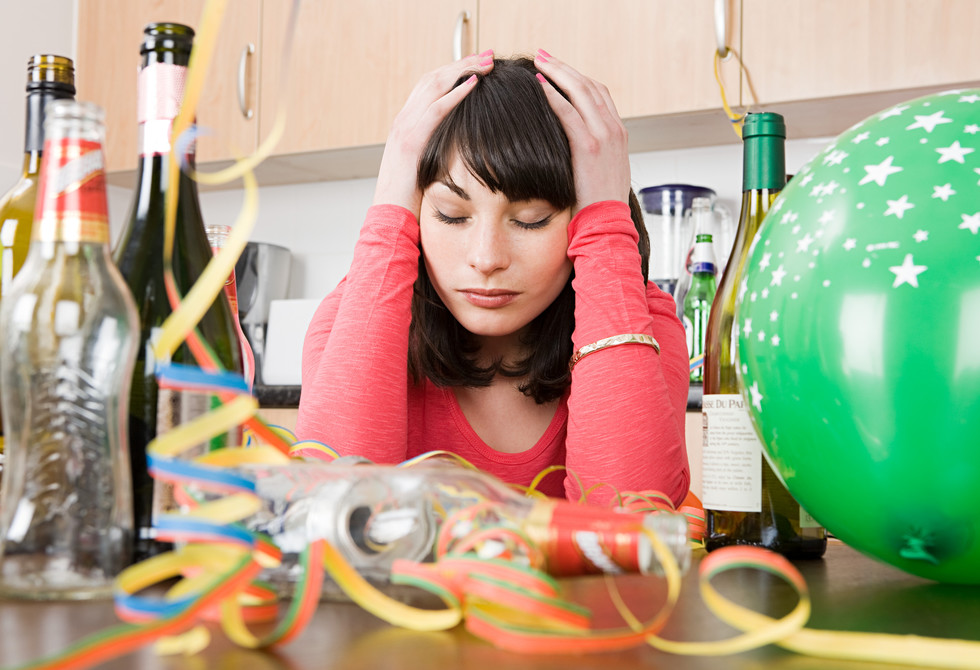 Hangover tips for the party season