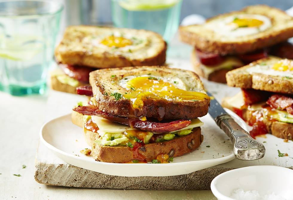 Gluten-free toad-in-the-hole sambo