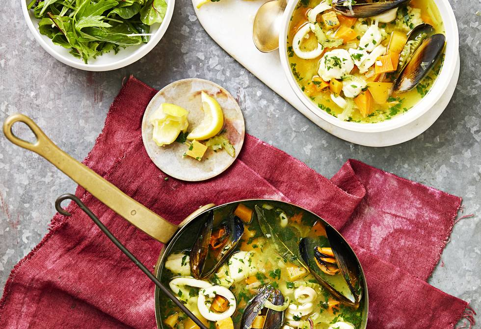 Brittany fish soup