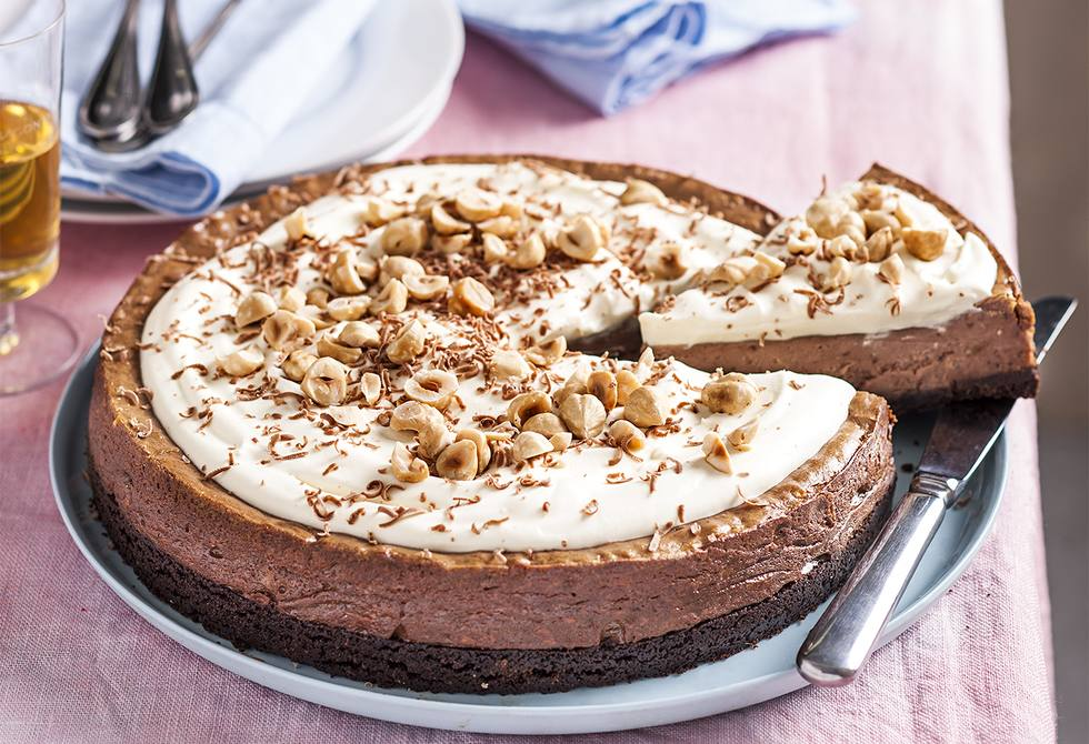 Decadent hazelnut cheesecake Recipe | Foodiful