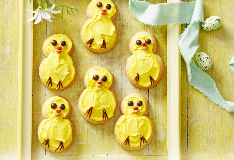 Baby chick biscuits