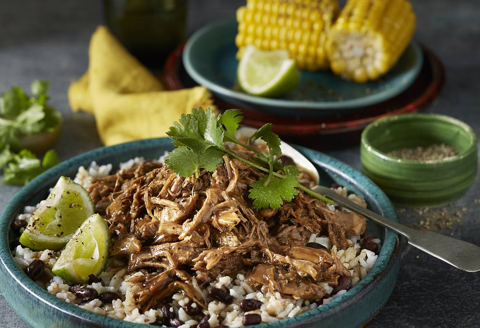 Cuban slow-cooked pork