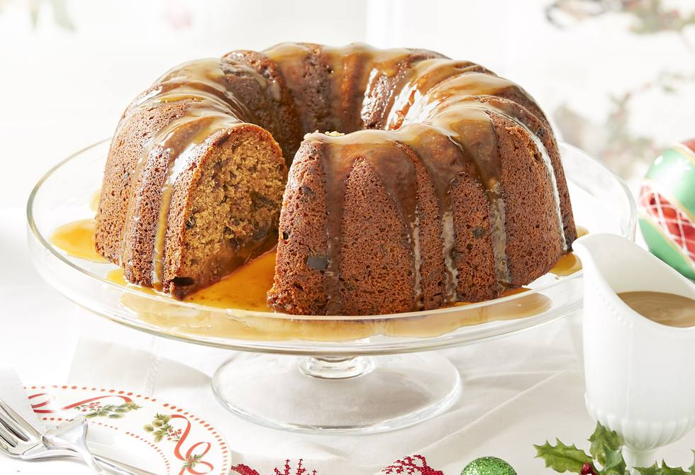 Sticky date Christmas pudding Recipe | Foodiful
