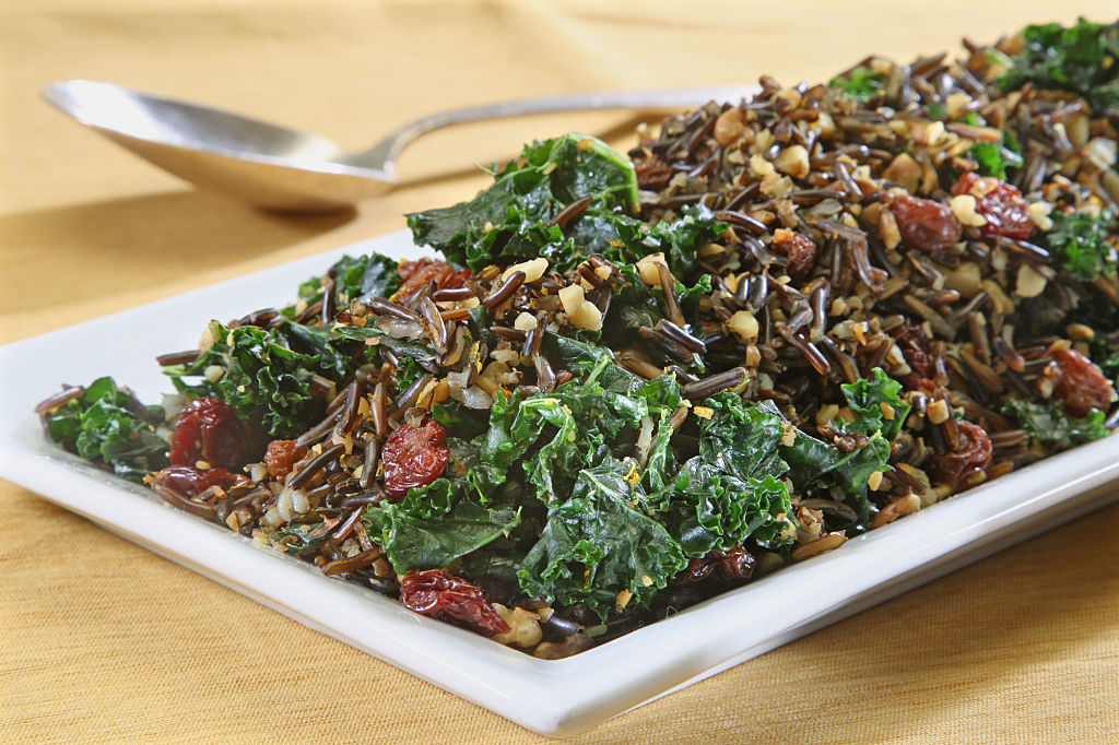 Hearty kale is the perfect ingredient for a make-ahead salad. Photo: Gary Friedman / Getty Images