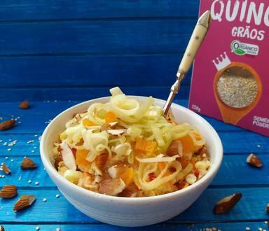Salpicão de Quinoa com Alho-Poró