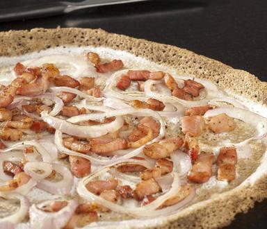 Galette façon flamenkuch sans gluten