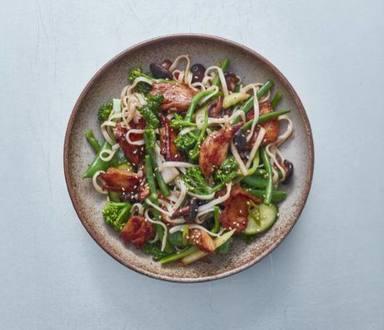 The Vegetarian Butcher NoChicken Teriyaki Salad - Foodservice