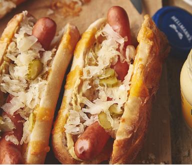 Frankfurtské hot dogy