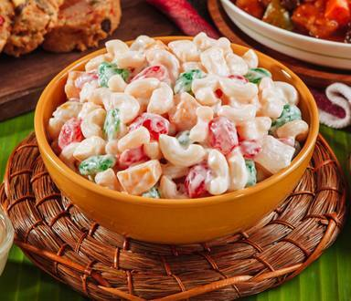 Sweet Macaroni Salad with Kaong