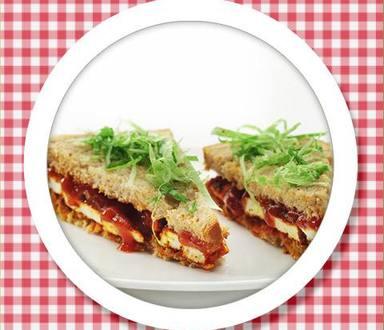 Recipe of Paneer Tikka Sandwich