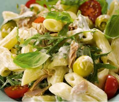 Salada de massa paradísiaca