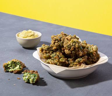 Receta: buñuelos de espinaca sin tacc, apto celíaco. Maizena