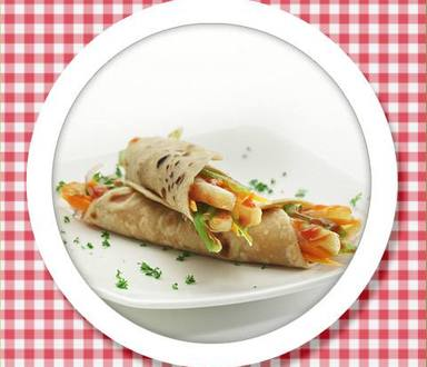 Recipe of French Fry & Cheese Wrap