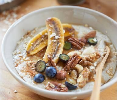 Porridge aux flocons d'avoine