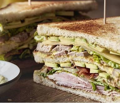 Ultimátny Club sandwich