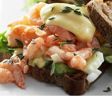Krevetový sendvič