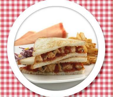 Recipe of Spicy Potato Mexican Sandwich