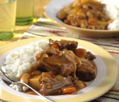 Beef & Butter Bean Stew