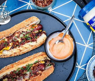 Ultimate BBQ Beef Dogs