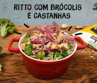 Ritto com Brócolis e Castanha-do-Pará