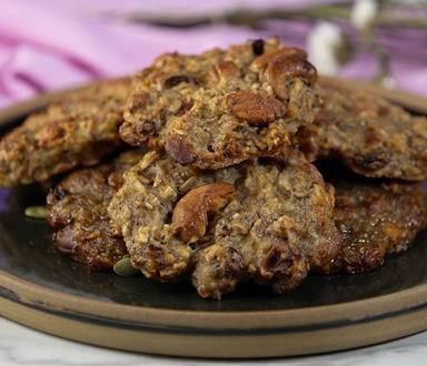 Cookies de Granola con Frutos Secos