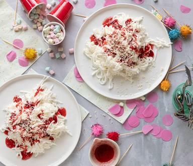 Miljuschka's spaghetti ijs