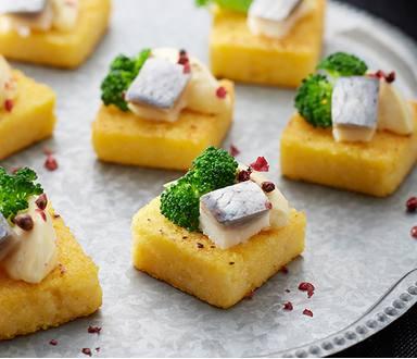 Polentové dortíky