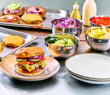 Vegetarischer Hack-selig Burger – Classic Style