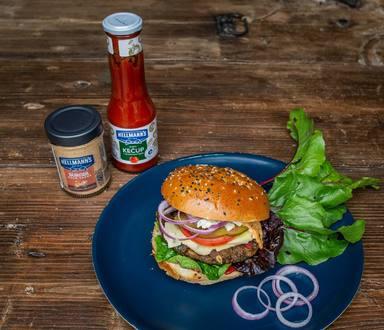 Vegeburger z mangoldu a řepových listů
