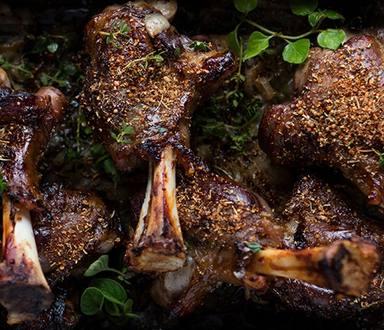 Slow Roasted Lamb Shanks