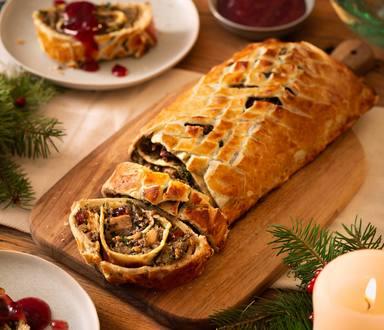 Veganer Weihnachts Wellington
