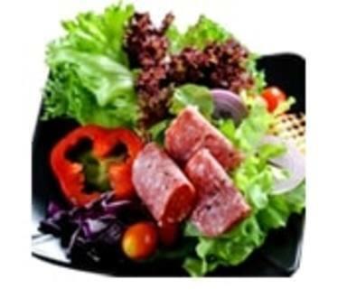 Pastrami and Sausage Salad