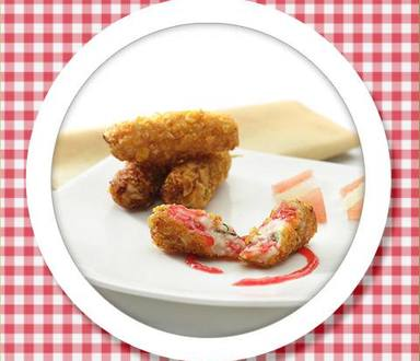 Recipe of Paneer Jammy Croquettes