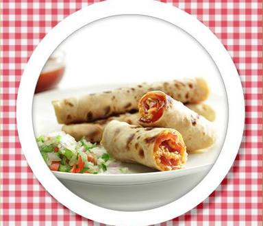 Recipe of Ketchup & Cheese Stuffed Parathas