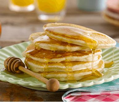 ingredientes de pancakes en ingles