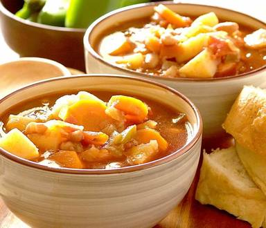 Hearty Vegetable & Bean Stew
