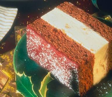 Gâteau de Pain d'Epices à la Crème Glacée