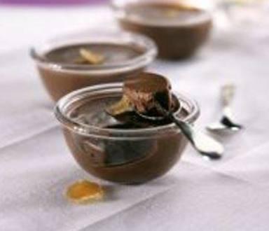 Crème au chocolat et au gingembre