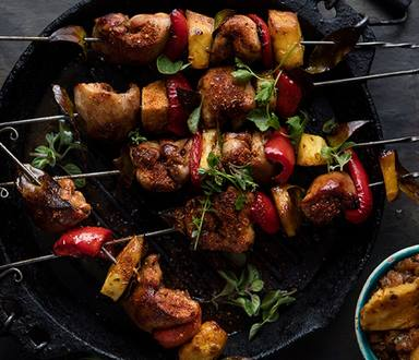 Cajun Chicken Skewers