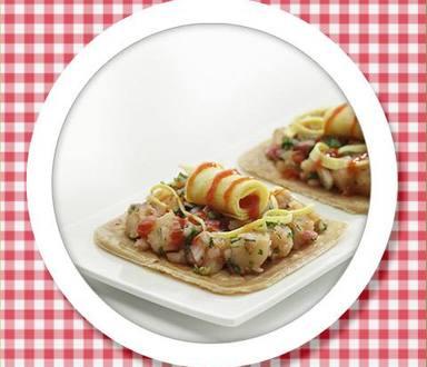 Recipe of Omlette & Potato Rolls