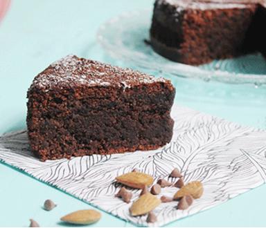 Torta húmeda de chocolate | Maizena