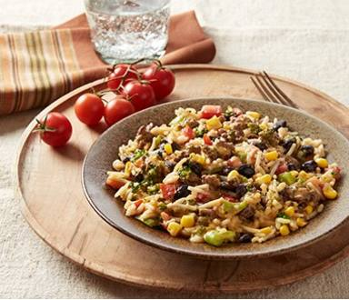 Beefy Black Beans & Rice