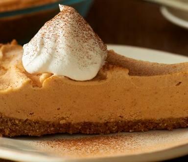 Pumpkin Ice Cream Pie