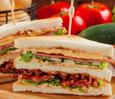 Meaty Clubhouse Sandwich