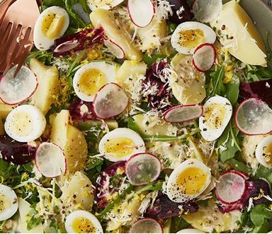 Bramborový salát s křenem