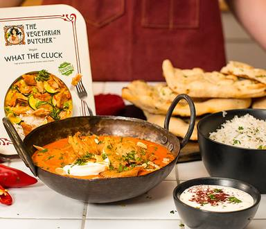 What The Cluck Mild Vegan Tikka Masala Recipe
